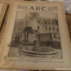 Militaria: ABC 27 DE AGOSTO DE 1937, SEVILLA,22 PAGINAS.LIBERACION DE SANTANDER,PARTE DE GUERRA, ETC. Lote 149865734