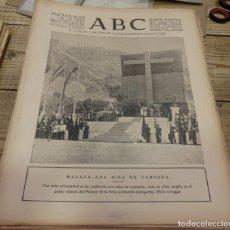 Militaria: ABC 22 DE JULIO DE 1938, SEVILLA,18 PAGINAS,SECTOR DE CASTELLON,MONTERRUBIO DE LA SERENA PARTE DE GU. Lote 151303898
