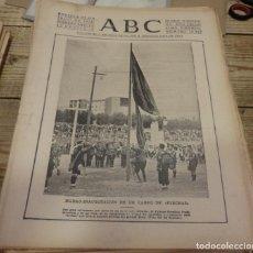 Militaria: ABC 23 DE JULIO DE 1938, SEVILLA,18 PAGINAS,SORT,FLECHAS, SECTOR DE CASTELLON, PARTE DE GUERRA,ETC.. Lote 151304314