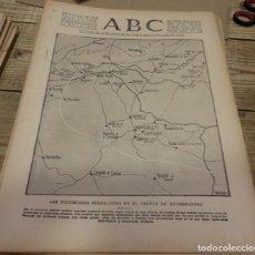 Militaria: ABC 26 DE JULIO DE 1938, 22 PAGINAS, FRENTE DE EXTREMADURA,DON BENITO, VILLANUEVA SERENA,PARTE DE GU. Lote 151486626