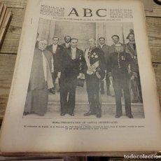 Militaria: ABC 27 DE JULIO DE 1938, 18 PAGINAS, FRENTE DE EXTREMADURA,FRENTE DEL EBRO,PARTE DE GUERRA. Lote 151486798