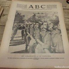 Militaria: ABC 30 DE JULIO DE 1938, 18 PAGINAS, FRENTE DE EXTREMADURA,CORDOBA,PARTE DE GUERRA,ETC... Lote 151487042