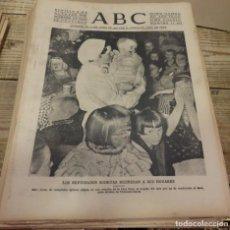 Militaria: ABC 9 DE OCTUBRE DE 1938, 18 PAGINAS, FRENTE DEL EBRO,PARTE DE GUERRA,ETC.. Lote 151490802