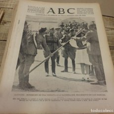 Militaria: ABC 7 DE OCTUBRE DE 1938, 22 PAGINAS, LOGROÑO,JOSE ANTONIO, FRENTE DEL EBRO,PARTE DE GUERRA,ETC.. Lote 151490998