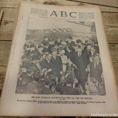 Militaria: ABC 4 DE OCTUBRE DE 1938, 22 PAGINAS, SECTOR DEL EBRO,PARTE DE GUERRA, ETC. Lote 152036362