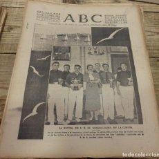 Militaria: ABC 9 DE SEPTIEMBRE DE 1938, SEVILLA,18 PAGINAS,BATALLA DEL EBRO,PARTE DE GUERRA,ETC... Lote 152151830