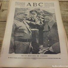 Militaria: ABC 21 DE SEPTIEMBRE DE 1938, SEVILLA,18 PAGINAS,PUEBLA DE VALVERDE, FRENTE DEL EBRO,PARTE DE GUERRA. Lote 152180890