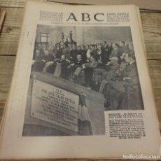 Militaria: ABC 22 DE SEPTIEMBRE DE 1938, SEVILLA,18 PAGINAS,BARCELONA,FRENTE DEL EBRO,PARTE DE GUERRA,ETC. Lote 152181134