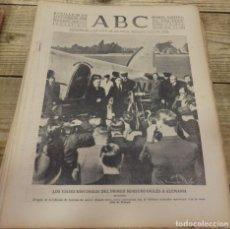 Militaria: ABC 29 DE SEPTIEMBRE DE 1938, SEVILLA,18 PAGINAS,CORDOBA,CASTELLON, FRENTE DEL EBRO,PARTE DE GUERRA,. Lote 152323710