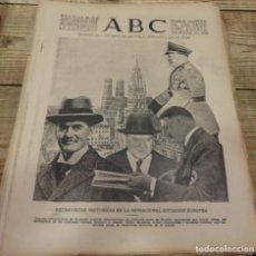 Militaria: ABC 30 DE SEPTIEMBRE DE 1938, SEVILLA,18 PAGINAS,BELMEZ, FRENTE DEL EBRO,PARTE DE GUERRA,ETC. Lote 152324194