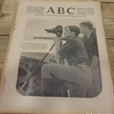 Militaria: ABC 14 DE OCTUBRE DE 1938, SEVILLA,18 PAGINAS,BOROX, FRENTE DEL EBRO,PARTE DE GUERRA,ETC. Lote 152398674