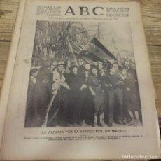 Militaria: ABC 6 DE ABRIL DE 1939, SEVILLA,22 PAGINAS,LIBERACION DE MADRID,ENTIERRO GARCIA MORATO,SEMANA SANTA,. Lote 152410410