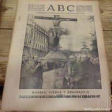 Militaria: ABC 13 DE ABRIL DE 1939, SEVILLA,18 PAGINAS,MADRID CRISTO MUTILADO,GARCIA MORATO,ETC. Lote 152410734