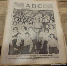 Militaria: ABC 23 DE MARZO DE 1939, SEVILLA,16 PAGINAS,CABRA,,PARTE DE GUERRA,ETC. Lote 152877826