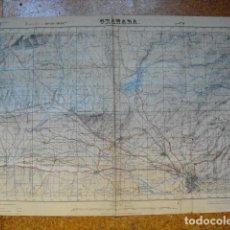 Militaria: GUERRA CIVIL MAPA DE GRANADA EJERCITO NACIONAL. Lote 152878646