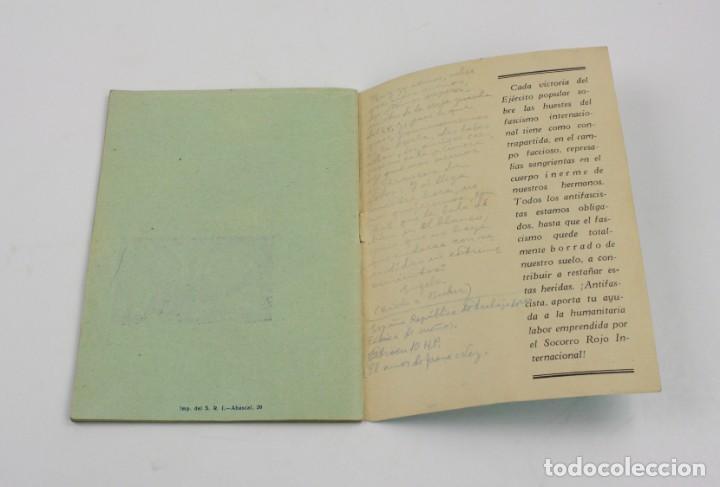 Militaria: Estampas de España, Ilya Eremburg, 1937, ilustraciones YES, Guerra Civil, con anotaciones. 17x12cm - Foto 4 - 153942742