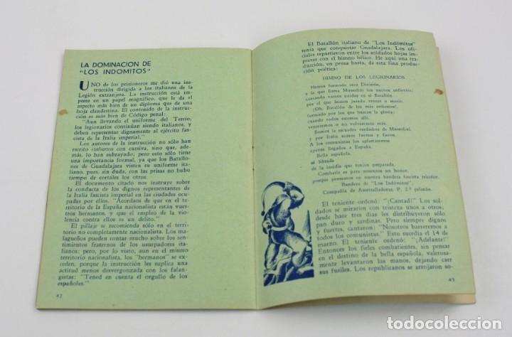 Militaria: Estampas de España, Ilya Eremburg, 1937, ilustraciones YES, Guerra Civil, con anotaciones. 17x12cm - Foto 5 - 153942742