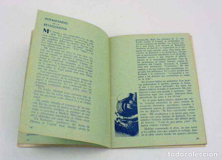 Militaria: Estampas de España, Ilya Eremburg, 1937, ilustraciones YES, Guerra Civil, con anotaciones. 17x12cm - Foto 6 - 153942742