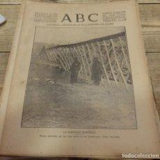 Militaria: ABC 21 DE NOVIEMBRE DE 1936, 14 PAGINAS, FRENTE DE MADRID,PARTE DE GUERRA,ETC. Lote 154259066