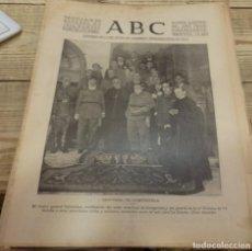 Militaria: ABC 28 DE OCTUBRE DE 1936, 21 PAGINAS, CASARRUBIELOS, GRIÑON, CUBAS ,TORREJON,PARTE DE GUERRA, ETC. Lote 154364246