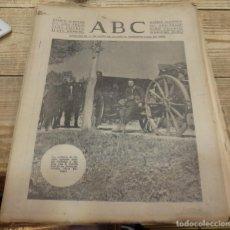 Militaria: ABC 23 DE MARZO DE 1938, SEVILLA,18 PAGINAS,FRENTE DE ARAGON, HUESCA,PARTE DE GUERRA, ETC.. Lote 154365310