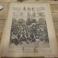 Militaria: ABC 30 DE JULIO DE 1937, 22 PAGINAS,CADIZ,OBEJO,CORDOBA,PARTE DE GUERRA,ETC. Lote 154365562