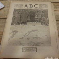 Militaria: ABC 3 DE MARZO DE 1938, ,18 PAGINAS,TERUEL,PEÑARROYA,PARTE DE GUERRA, ETC.. Lote 154365950