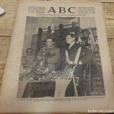 Militaria: ABC 24 DE MARZO DE 1938, SEVILLA,18 PAGINAS,FRENTE DEL EBRO,PARTE DE GUERRA, ETC.. Lote 154369282