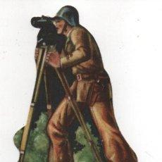 Militaria: EJERCITO POPULAR, COMANDANTE- MIDE: 12 X 7 C.M. VER FOTOS. Lote 154464926