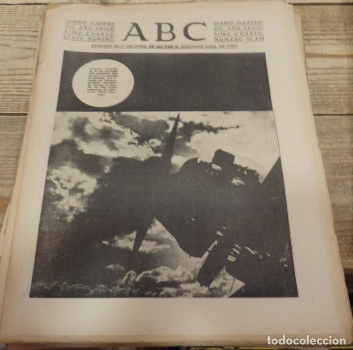 ABC 10 DE MARZO DE 1938, 21 PAGINAS, FRENTE DE ARAGON,FUERO DEL TRABAJO, PARTE DE GUERRA (Militar - Guerra Civil Española)