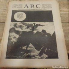 Militaria: ABC 10 DE MARZO DE 1938, 21 PAGINAS, FRENTE DE ARAGON,FUERO DEL TRABAJO, PARTE DE GUERRA. Lote 154993582