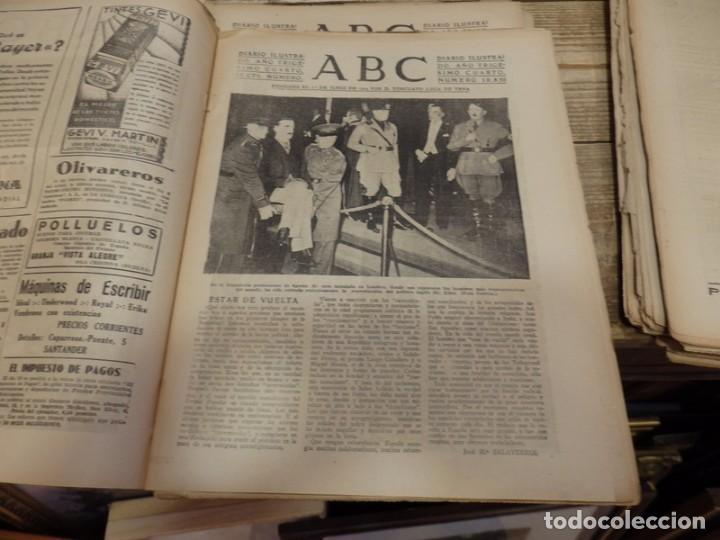 Militaria: ABC 10 DE MARZO DE 1938, 21 PAGINAS, FRENTE DE ARAGON,FUERO DEL TRABAJO, PARTE DE GUERRA - Foto 2 - 154993582