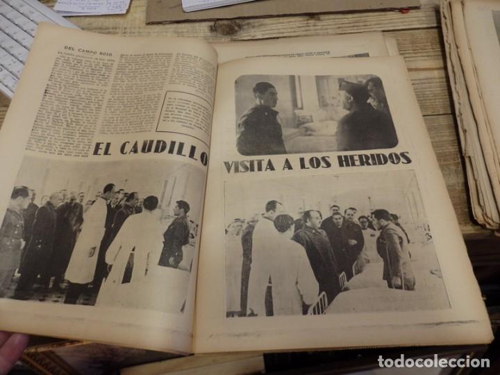 Militaria: ABC 9 DE MARZO DE 1938, 18 PAGINAS, EL CAUDILLO VISITA A LOS HERIDOS, PARTE DE GUERRA - Foto 3 - 154994098
