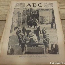 Militaria: ABC 8 DE MARZO DE 1938,PARTE DE GUERRA, CORDOBA, MUSSOLINI ,22 PAGINAS, , ETC. Lote 154994590