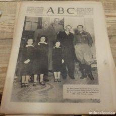 Militaria: ABC 15 DE MARZO DE 1938,ALCAÑIZ,CARCHUNA,CALAHONDA,MOTRIL,UTRILLAS,22 PAGINAS, , ETC. Lote 154995570