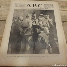 Militaria: ABC 16 DE MARZO DE 1938, SEVILLA,18 PAGINAS, CASPE,ALCAÑIZ,BILBAO,SEVILLA, ETC.. Lote 154996078