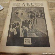 Militaria: ABC 25 DE FEBRERO DE 1938, 26 PAGINAS, BILBAO,FRENTE DE TERUEL,CORDOBA,MIGUEL FLETA,ETC. Lote 155009286