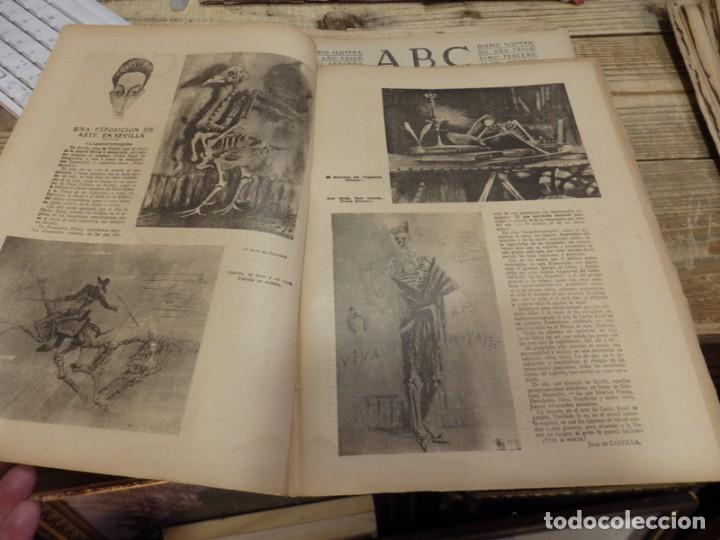 Militaria: ABC 25 DE FEBRERO DE 1938, 26 PAGINAS, BILBAO,FRENTE DE TERUEL,CORDOBA,MIGUEL FLETA,ETC - Foto 2 - 155009286