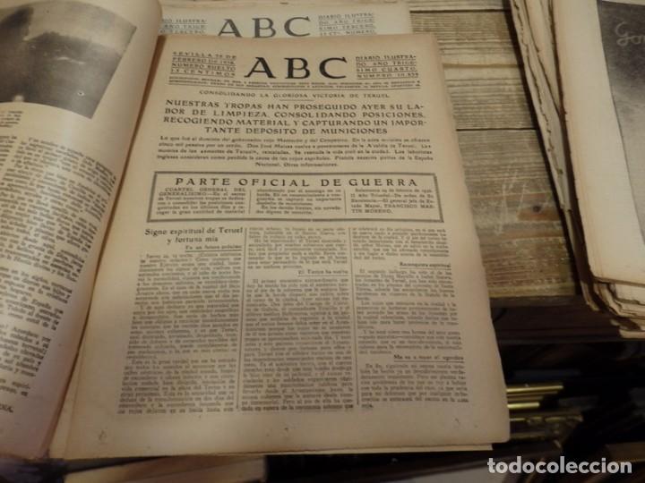 Militaria: ABC 25 DE FEBRERO DE 1938, 26 PAGINAS, BILBAO,FRENTE DE TERUEL,CORDOBA,MIGUEL FLETA,ETC - Foto 3 - 155009286