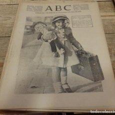 Militaria: ABC 2 DE ENERO DE 1938, 24 PAGINAS,CACERES, TERUEL,SAN BLAS,LA MUELA,PARTE DE GUERRA,ETC. Lote 155080266