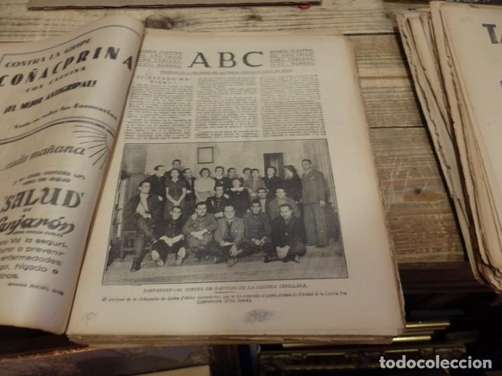 Militaria: ABC 4 DE ENERO DE 1938, SEVILLA,26 PAGINAS, MILLAN ASTRAY AVILA, BATALLA TERUEL,BILBAO,ETC... - Foto 2 - 155080606