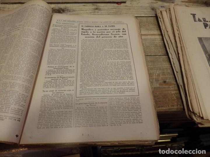 Militaria: ABC 4 DE ENERO DE 1938, SEVILLA,26 PAGINAS, MILLAN ASTRAY AVILA, BATALLA TERUEL,BILBAO,ETC... - Foto 5 - 155080606
