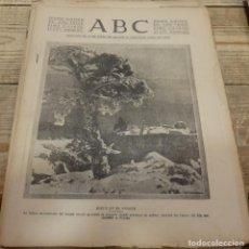 Militaria: ABC 6 DE ENERO DE 1938, SEVILLA,26 PAGINAS, AVIACION, BATALLA TERUEL,,ETC.... Lote 155160946