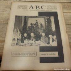 Militaria: ABC 22 DE FEBRERO DE 1938, 30 PAGINAS, FRENTE DE TERUEL,PARTE DE GUERRA,ETC. Lote 155163246