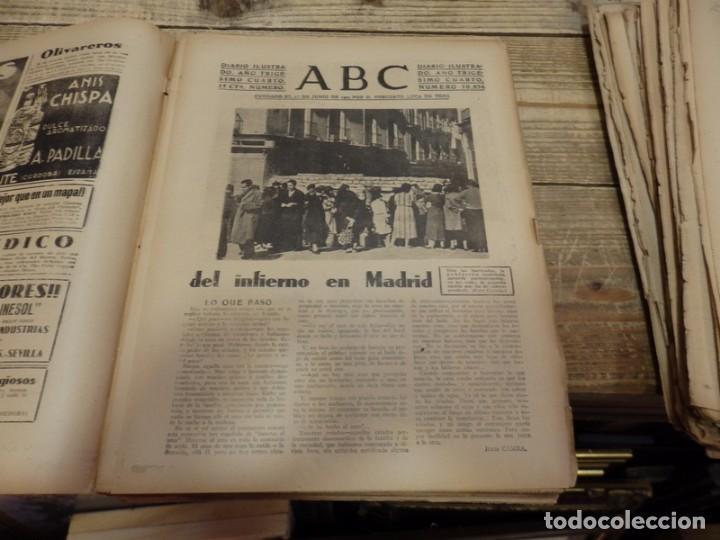 Militaria: ABC 22 DE FEBRERO DE 1938, 30 PAGINAS, FRENTE DE TERUEL,PARTE DE GUERRA,ETC - Foto 2 - 155163246