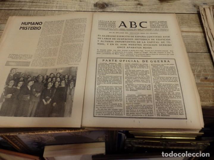 Militaria: ABC 22 DE FEBRERO DE 1938, 30 PAGINAS, FRENTE DE TERUEL,PARTE DE GUERRA,ETC - Foto 4 - 155163246