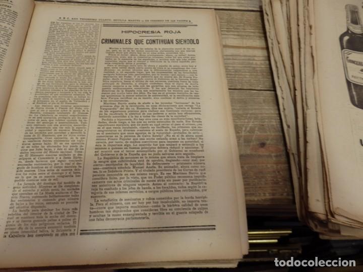 Militaria: ABC 22 DE FEBRERO DE 1938, 30 PAGINAS, FRENTE DE TERUEL,PARTE DE GUERRA,ETC - Foto 5 - 155163246