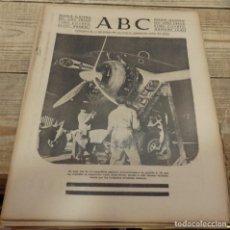 Militaria: ABC 20 DE FEBRERO DE 1938, 28 PAGINAS, FRENTE DE TERUEL,PARTE DE GUERRA,ETC. Lote 155209906