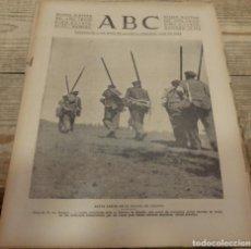 Militaria: ABC 19 DE FEBRERO DE 1938, 24 PAGINAS, FRENTE DE TERUEL,CORDOBA,PARTE DE GUERRA,ETC.. Lote 155210738