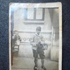 Militaria: (JX-190382)FOTOGRAFÍA DE MILICIANO , GUERRA CIVIL , EQUIPAMIENTO .. Lote 157244966